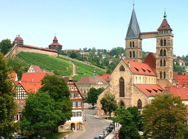 Esslinger Burg Von Stuttgart Bis Esslingen