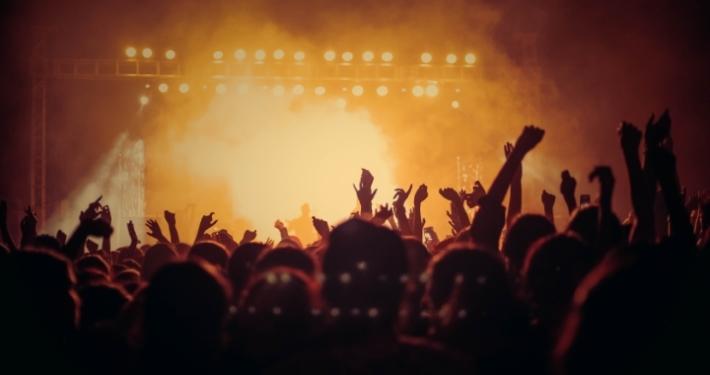 Konzert Feiern Party Stadion