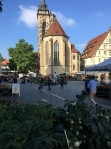 Stuttgart Wochenmarkt Schillerplatz