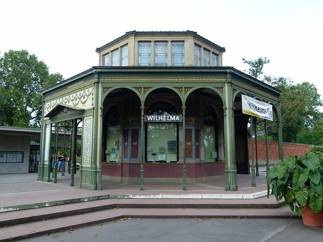 Wilhelma Stuttgart Eingangspavillon