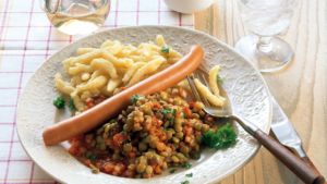 Linsen Spätzle Schwäbische Küche Esslingen